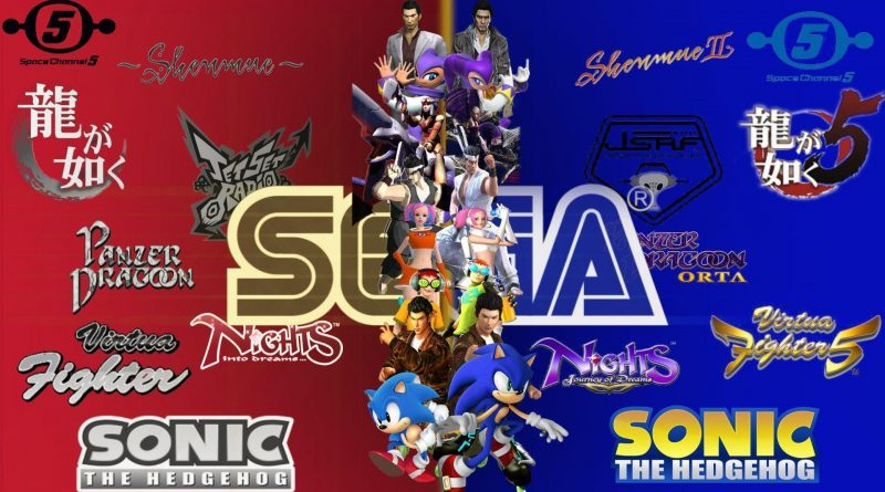 SEGA announcement- Lv1 Gaming