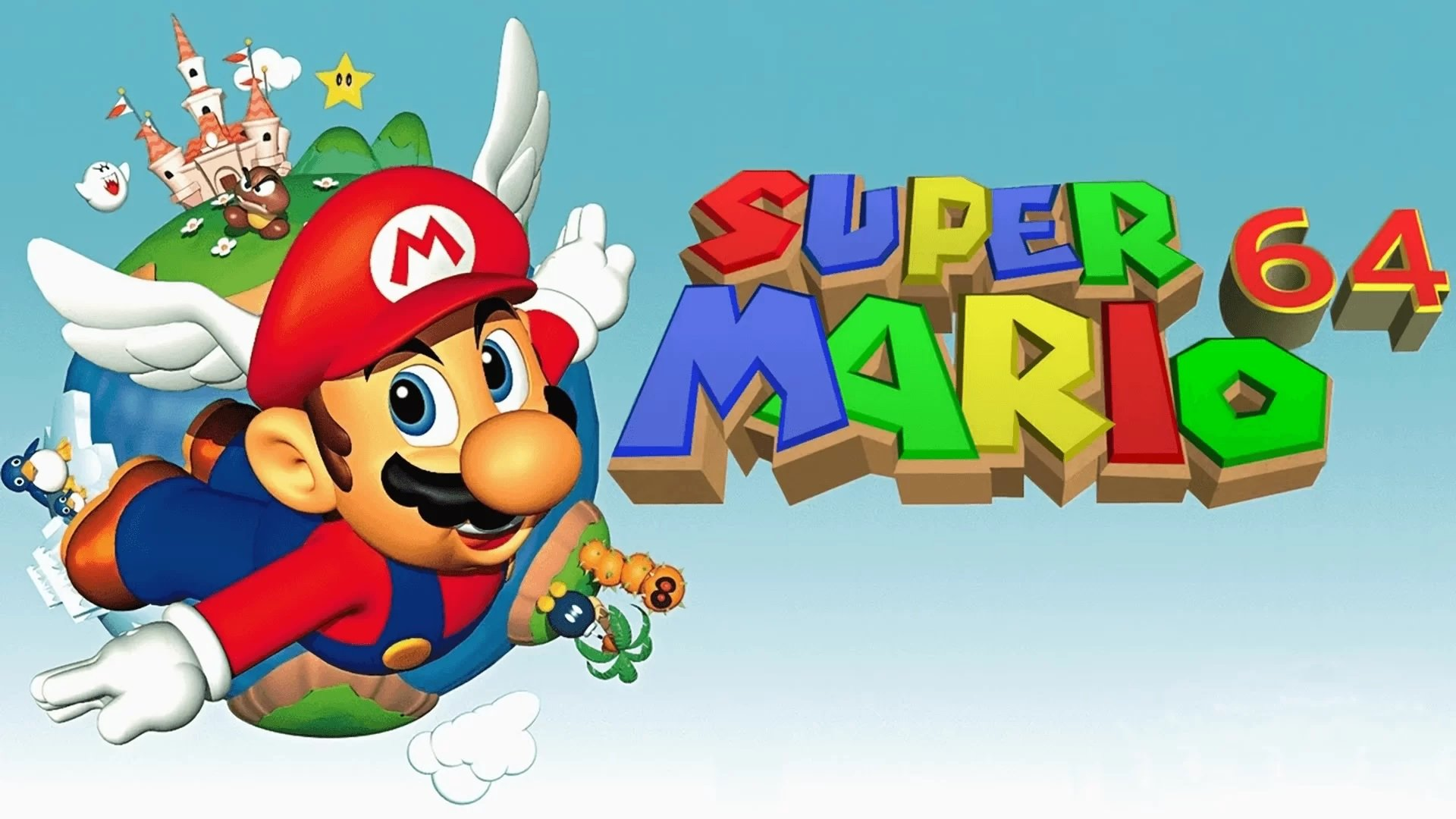 Mario 64 ported to PC
