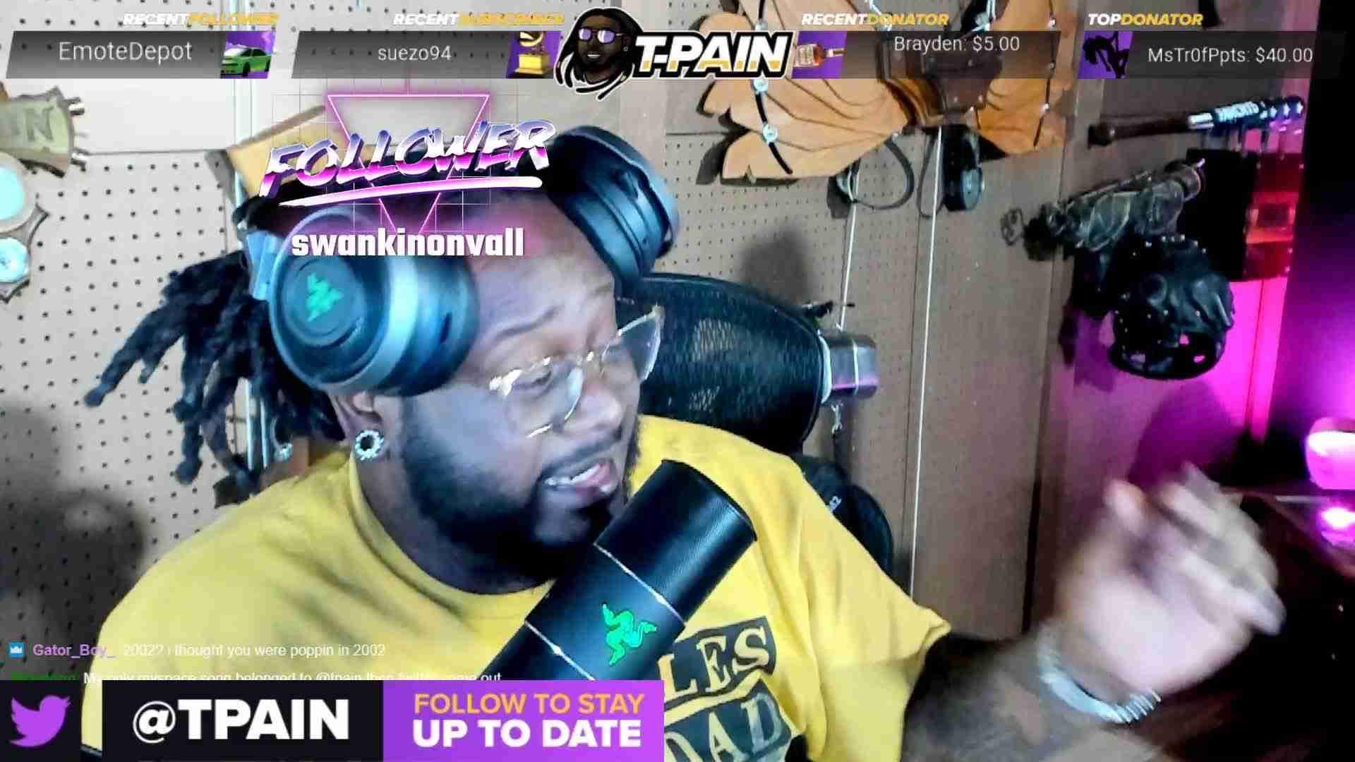 t-pain twitch