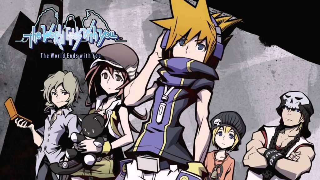 """The Cover Art for """"The World Ends With You Remix Edition."""""""