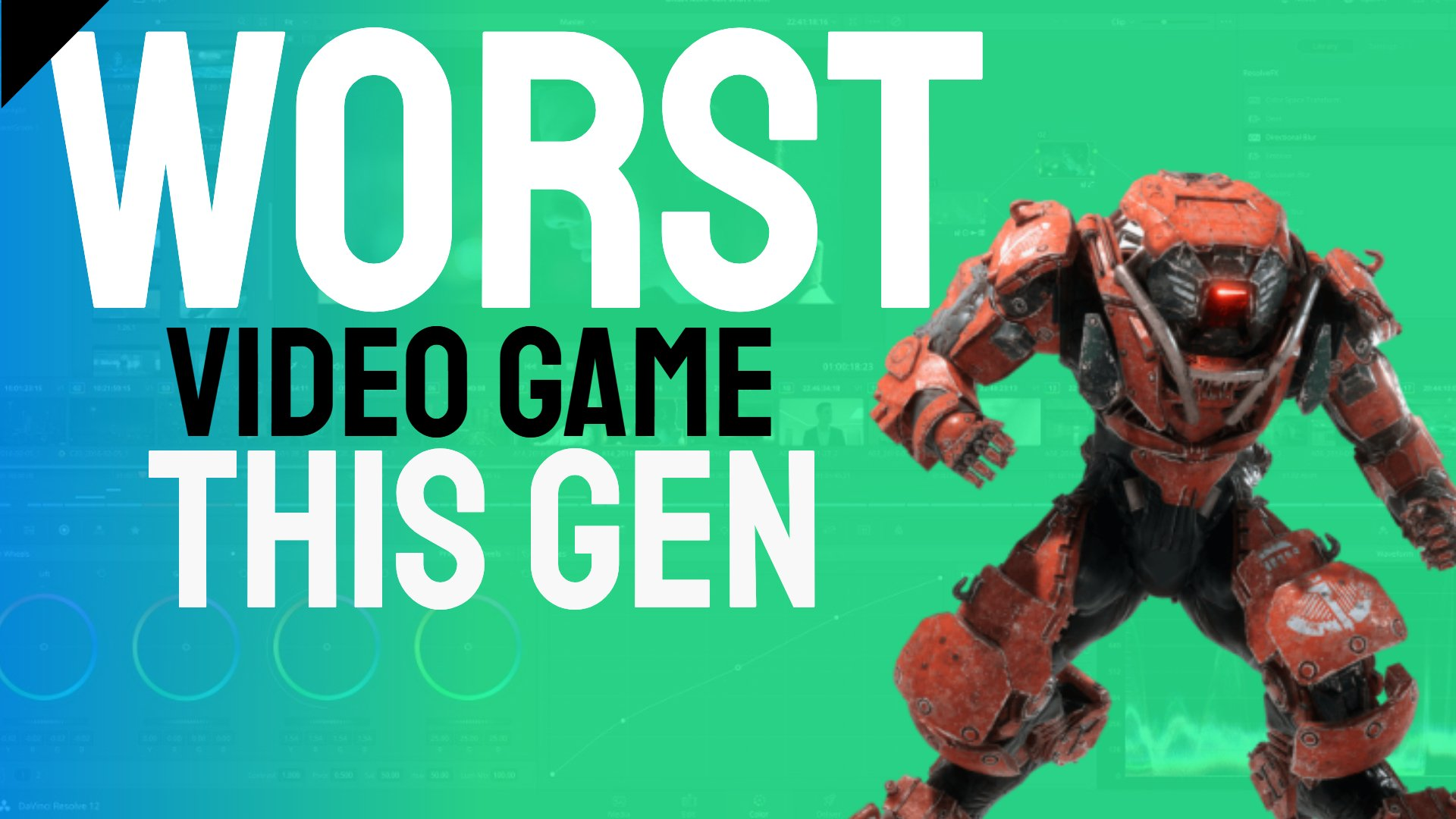 Worst Video Game