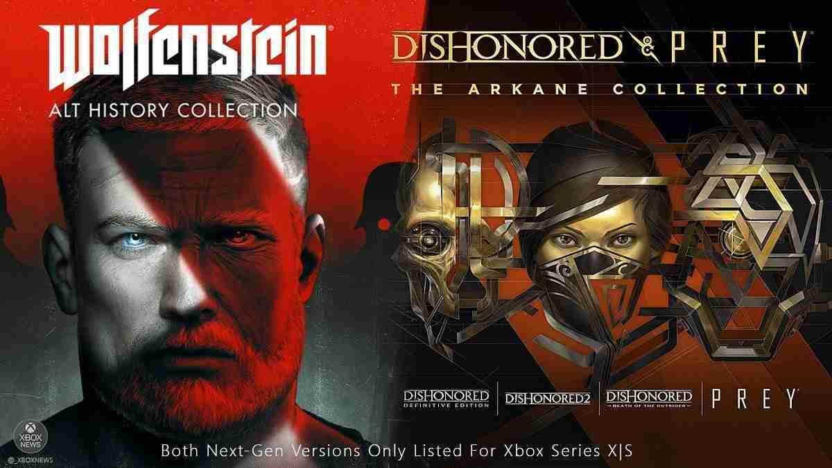 Wolfenstein Dishonored Prey Collection
