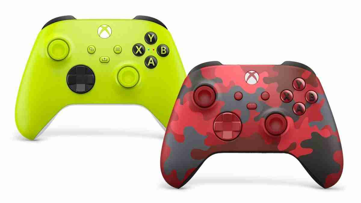 New Xbox Series X Controllers