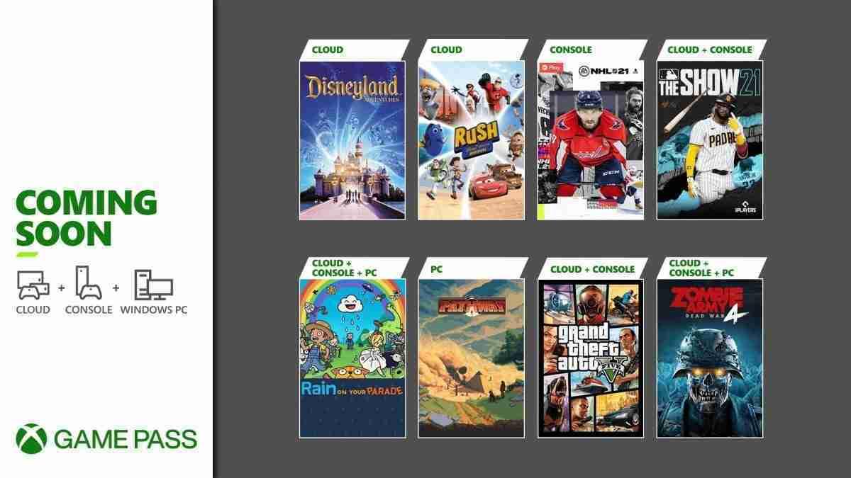 April 2021 Xbox Game Pass