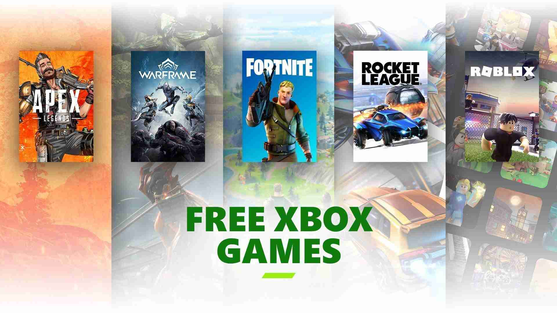 free to play on Xbox