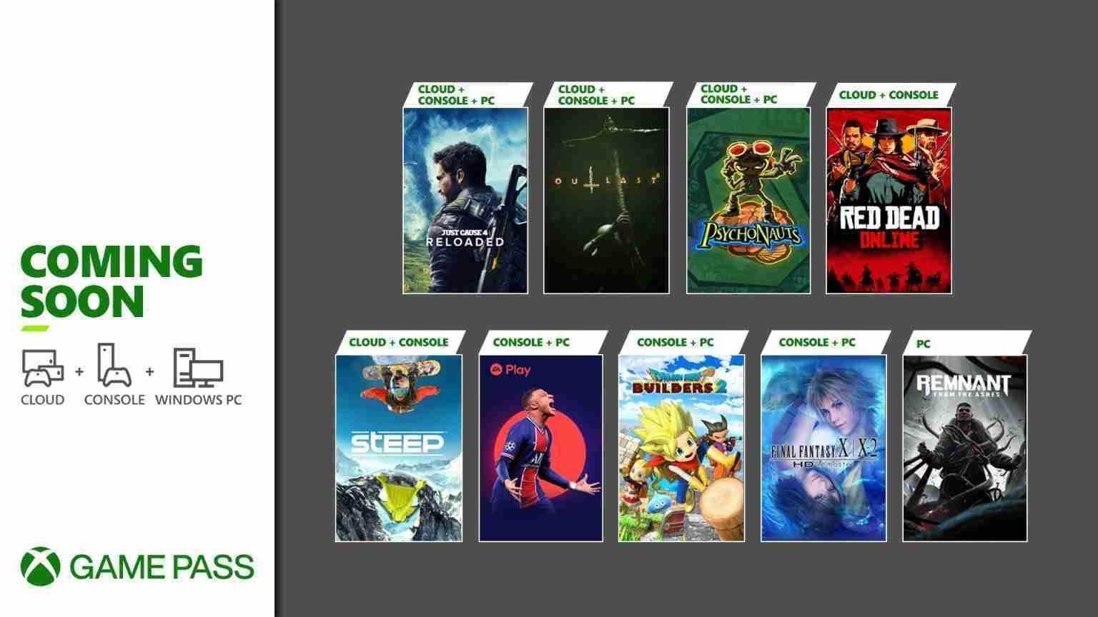 Xbox Game Pass May 2021