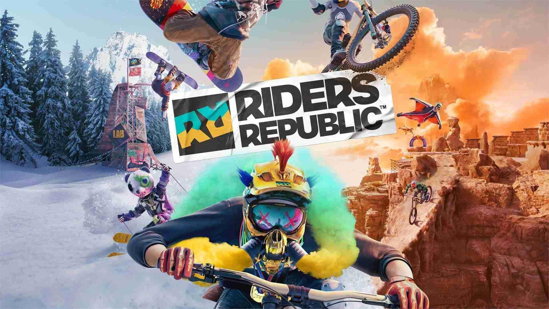 Riders Republic Artwork