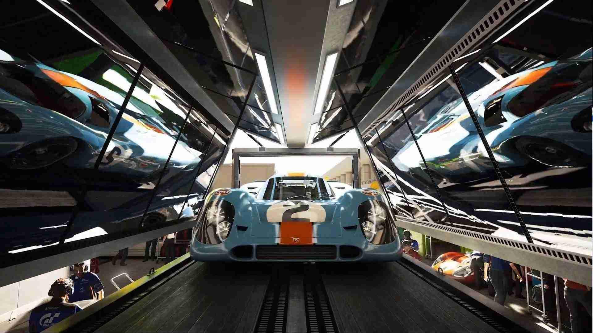 Gran Turismo's Ray Tracing