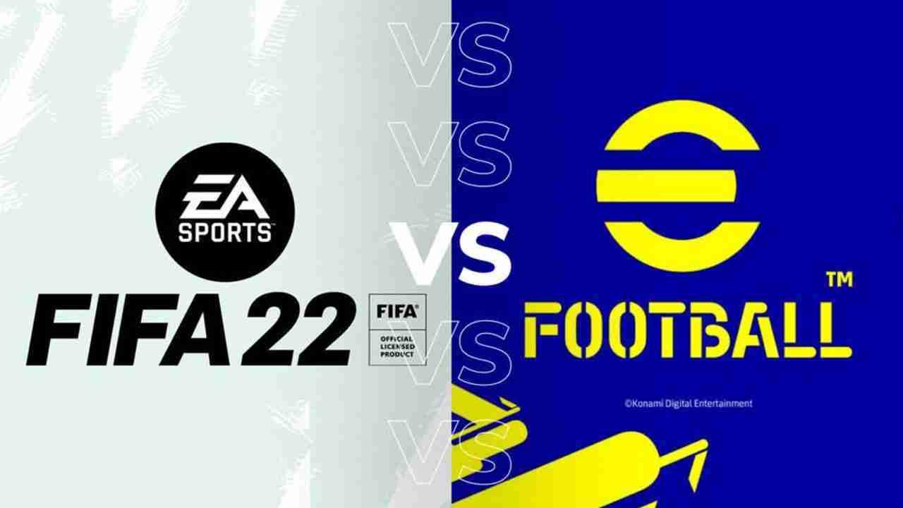 FIFA vs eFootball
